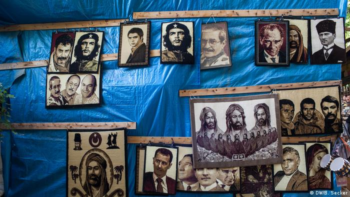 Carpets bearing Ataturk's face (DW/B. Secker)