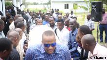 Tansania Dar es Salaam - Beisetzung Isaac Gamba
