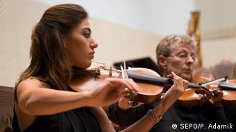 Rasha Masalkhi, violin