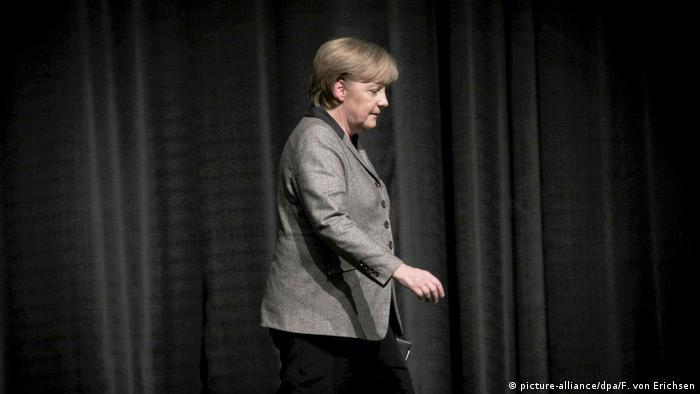 Foto de chefe de governo alemã, Angela Merkel