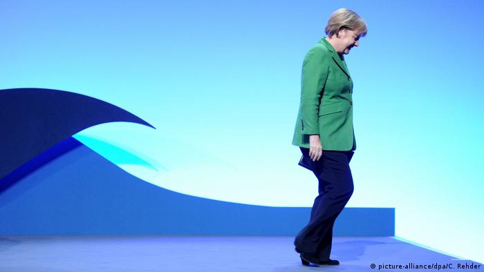 Angela Merkel (picture-alliance/dpa/C. Rehder)