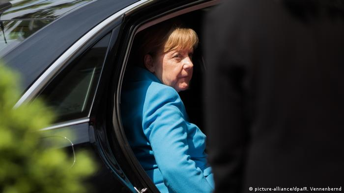 Angela Merkel (picture-alliance/dpa/R. Vennenbernd)