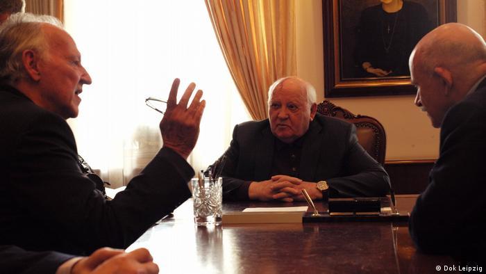 Filmstill - Dok Leipzig 2018 - Meeting Gorbachev