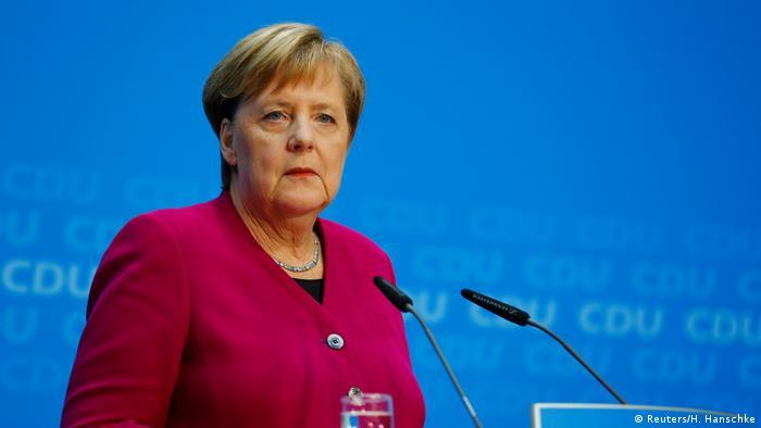 German Chancellor Angela Merkel (Reuters/H. Hanschke)