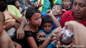 Mittelamerika Flüchtlings-Caravan Richtung USA (Reuters/U. Marcelino)