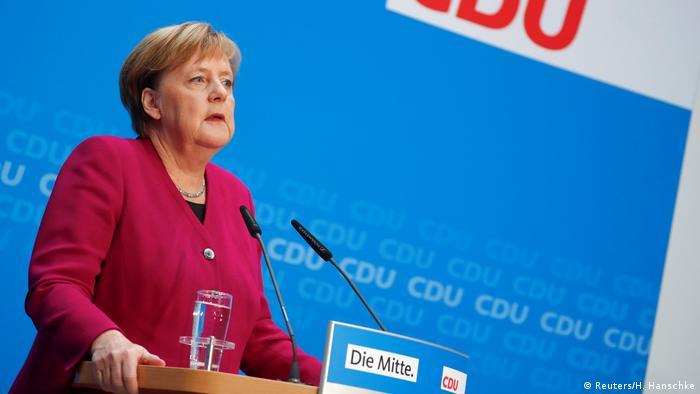 Angela Merkel PK