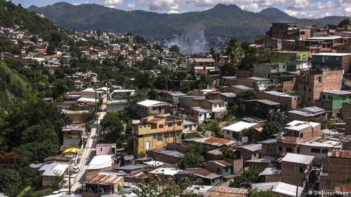 Periferia de Tegucigalpa (DW/Aitor Saez)