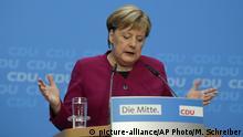 Berlin Merkel-Pressekonferenz nach Hessen-Wahl
