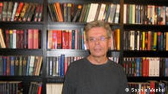 Krimibuchhändler Manfred Sarrazin (Foto: Sophie Wenkel)