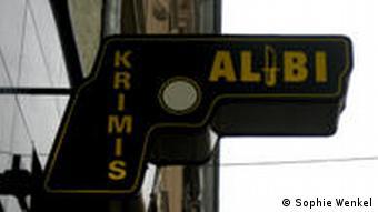 A bookshop sign