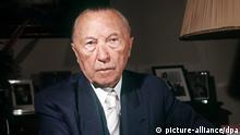 Deutschland CDU-Parteivorsitz Konrad Adenauer