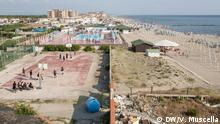Okt. 2018 +++ A seaside view of Castel Volturno bay