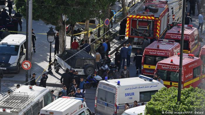 Tunesien Tunis - Selbstmordanschlag