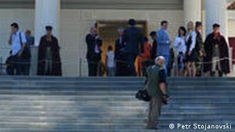 Mazedonien Land und Leute Residenz des mazedonischen Präsident Vila Vodno in Skopje