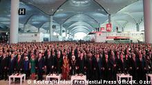 Türkei Eröffnung Flughafen Istanbul