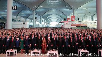 Türkei Eröffnung Flughafen Istanbul (Reuters/Handout Presidential Press Office/K. Ozer)