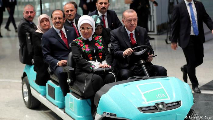 Erdogan na otvorenju zračne luke Istanbula