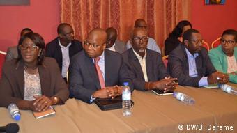 Guinea-Bissau - Minister für territoriale Verwaltung von Guinea-Bissau (DW/B. Darame)