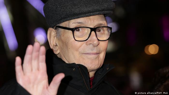 Musik l Komponist und Dirigent Ennio Morricone - Premiere von The Hateful Eight (picture alliance/PA/Y. Mok)
