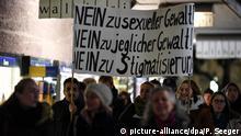 Deutschland - Demonstration nach Vergewaltigung in Freiburg