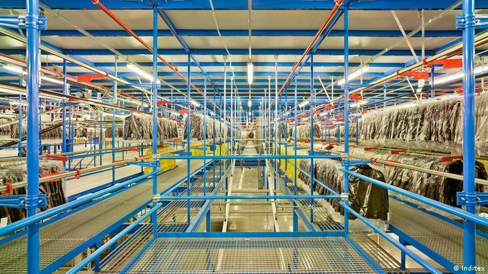 Inditex Vertriebszentrum nach Europa in Spanien