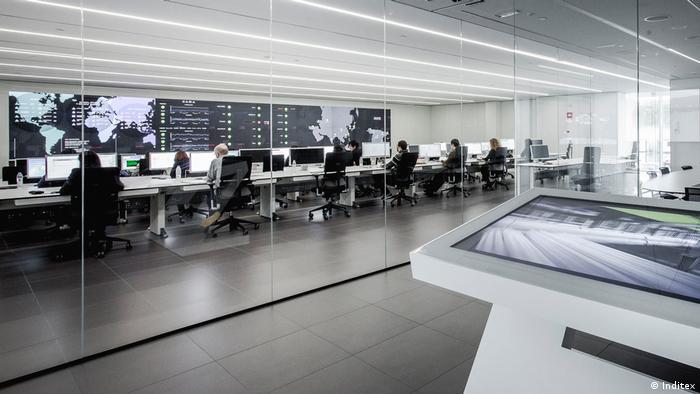 Inditex Technologiezentrum an der Firmenzentrale in La Coruña