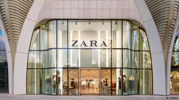Zara Geschäft in Büssel
