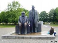 Памятник Марксу и Энгельсу в Берлине