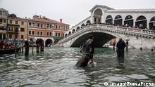 BdTD Italien Hochwasser in Venedig