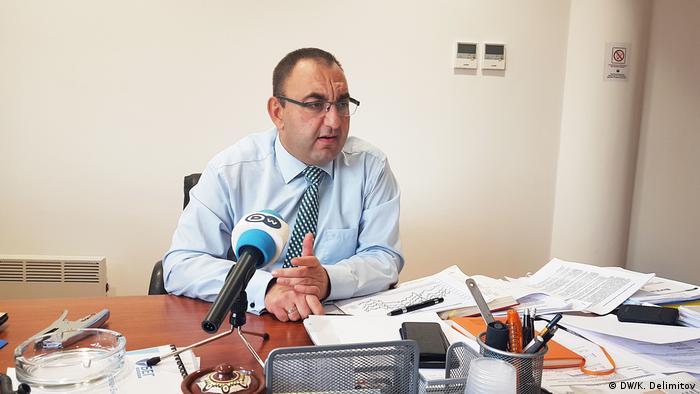 Mazedonien Energieregulierungskommission (DW/K. Delimitov)