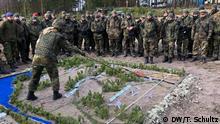 Військові німецького Бундесверу на навчаннях НАТО у 2018 році