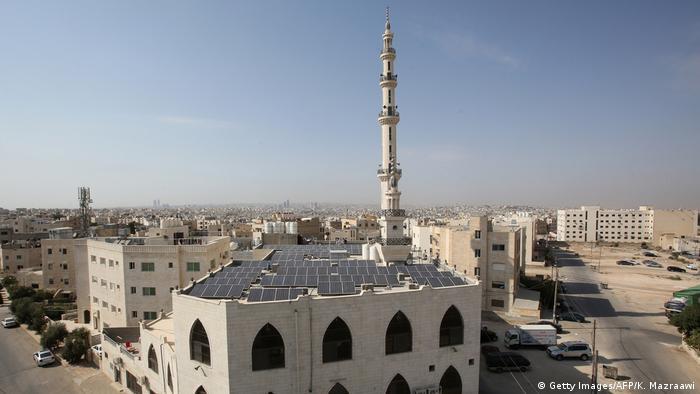 Amman Moschee mit Solarpanelen