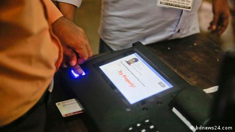 Bangladesch Elektronische Wahlmaschine (bdnews24.com)