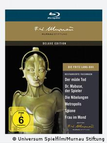 Cover DVD Die Fritz Lang Box