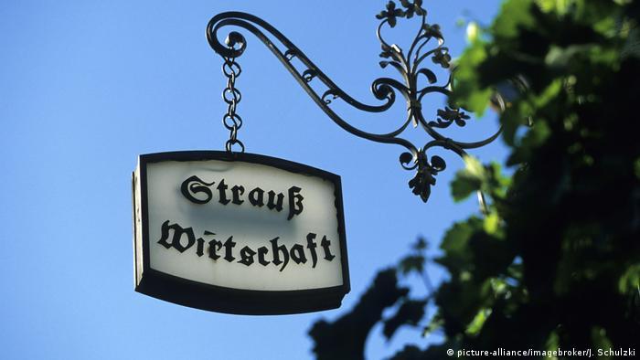 A Straußwirtschaft in Trittenheim (picture-alliance/imagebroker/J. Schulzki)