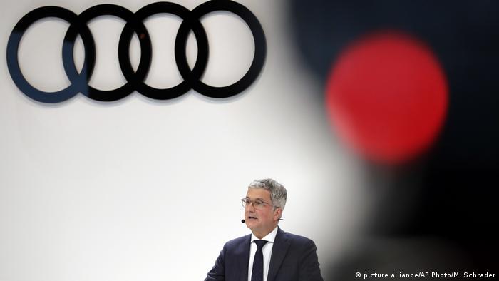 Ehemaliger Audi-Vorstandsvorsitzender Rupert Stadler