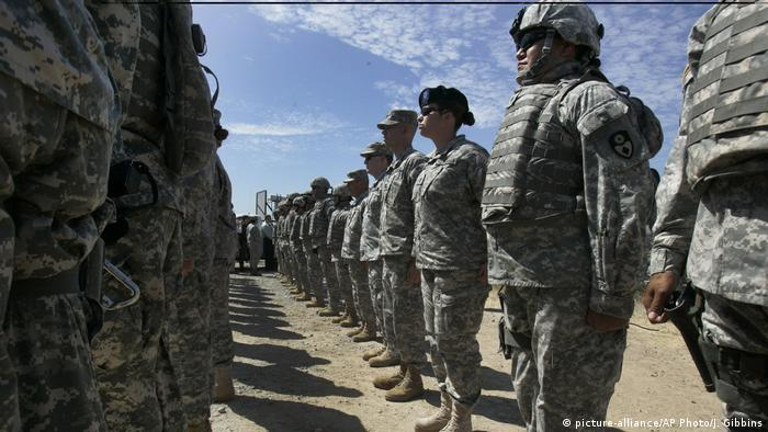 Troops from Task Force Sierra near the California/Mexico border in San Diego in late September