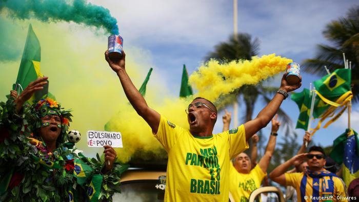 Brasilien Präsidentschaftswahlen Reaktionen (Reuters/P. Olivares)