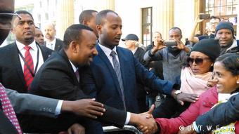 Deutschland Besuch Abiy Ahmed äthiopischer Premierminister