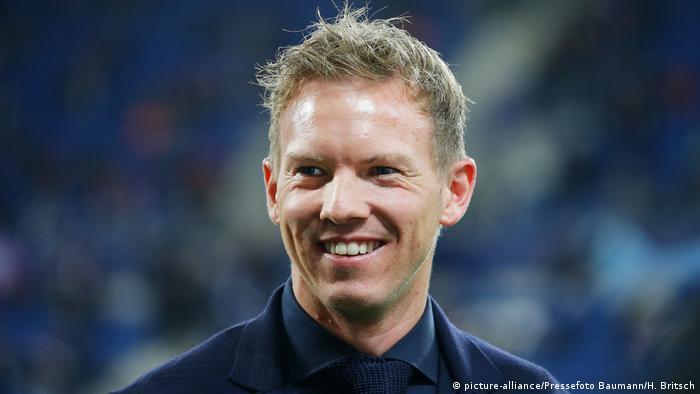 Fußball Bundesliga Julian Nagelsmann, Trainer TSG Hoffenheim (picture-alliance/Pressefoto Baumann/H. Britsch)
