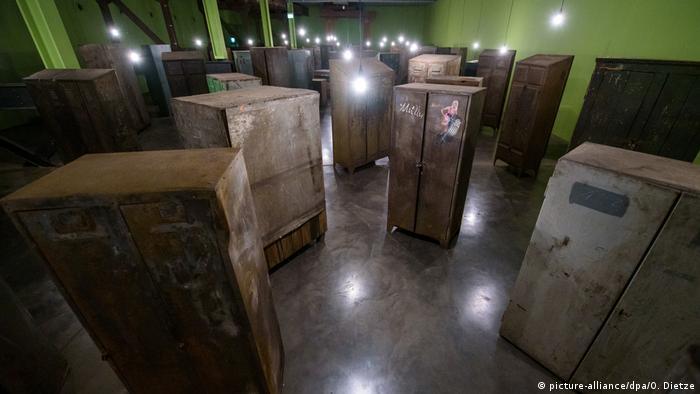 La instalación Recuerdos, de Christian Boltanski