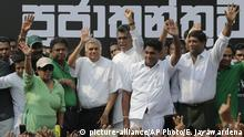 Ranil Wickremesinghe (picture-alliance/AP Photo/E. Jayawardena)