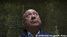 French artist Christian Boltanski poses during the presentation of the exhibition On the road in Santiago de Compostela on June 26, 2014. AFP PHOTO / MIGUEL RIOPA (Photo credit should read MIGUEL RIOPA/AFP/Getty Images)