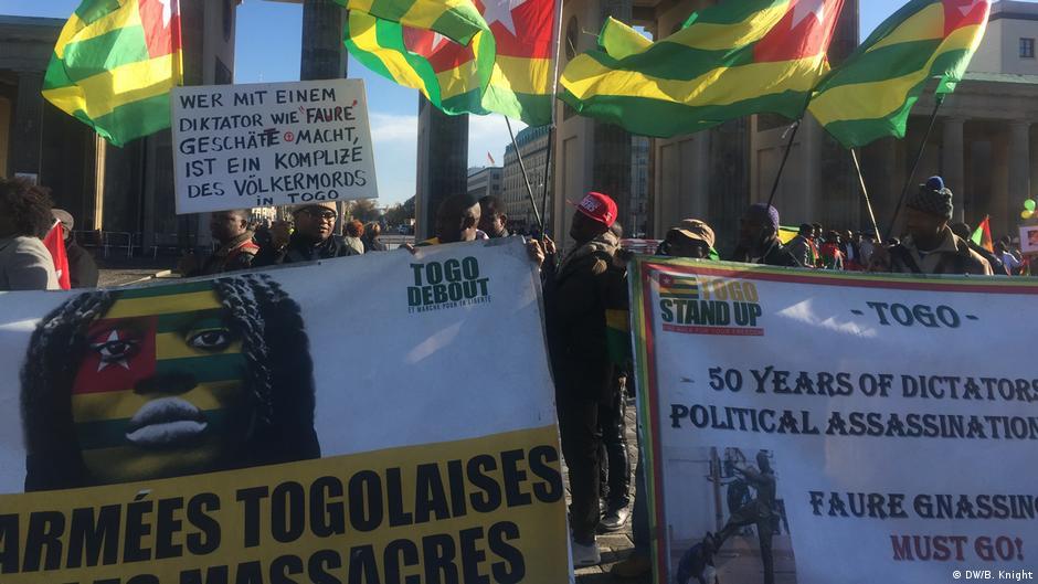 La diaspora togolaise en France a manifesté ce jour de vote