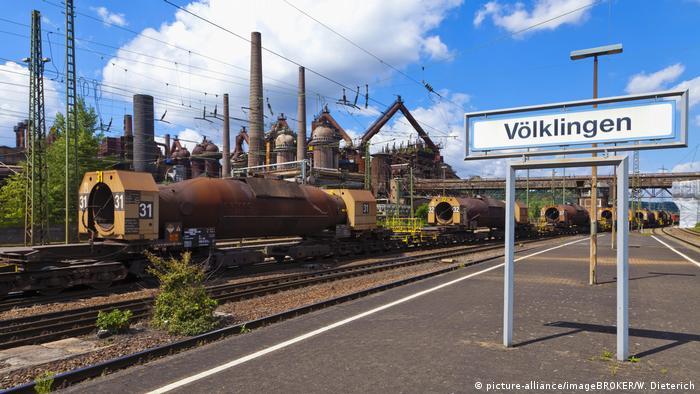 Völklinger Hütte, Bahnhof