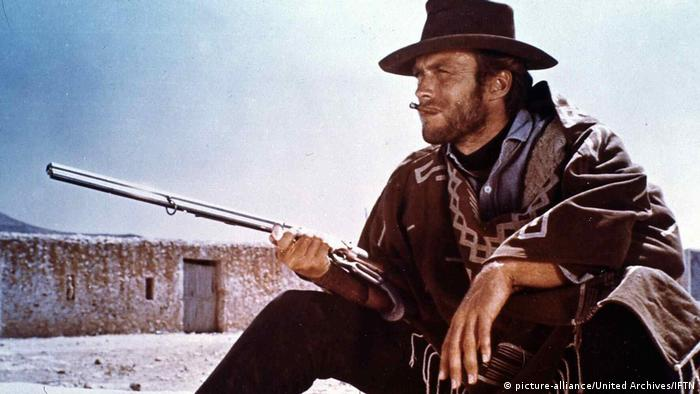 Clint Eastwood in Für eine Handvoll Dollar (picture-alliance/United Archives/IFTN)