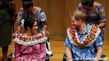 Südpazifik-Reise von Prinz Harry und Meghan Markle | Fidschi, Suva
