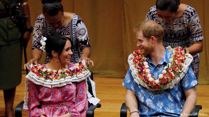 Südpazifik-Reise von Prinz Harry und Meghan Markle | Fidschi, Suva (Reuters/P. Noble)