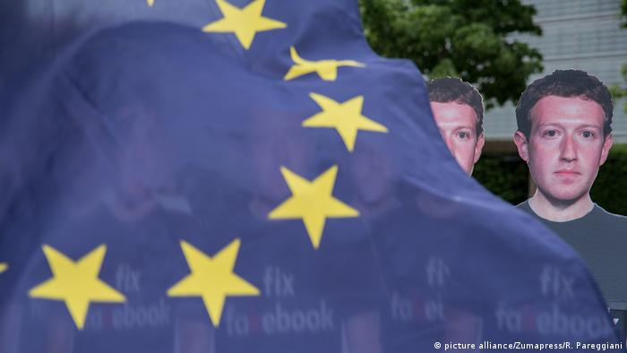 Belgien - Zuckerberg in the European Parliament (picture alliance/Zumapress/R. Pareggiani)