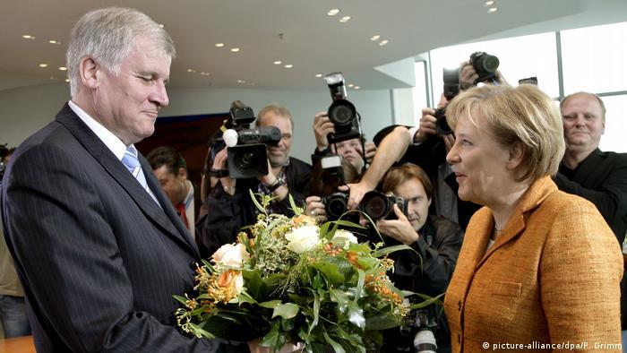 Bildergalerie Seehofer Merkel